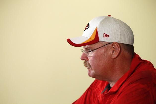 Kansas City Chiefs Head Coach Andy Reid Ranks Comes in Coach Rankings