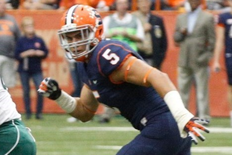Syracuse LB Luke Arciniega's Availability Uncertain Heading into Camp