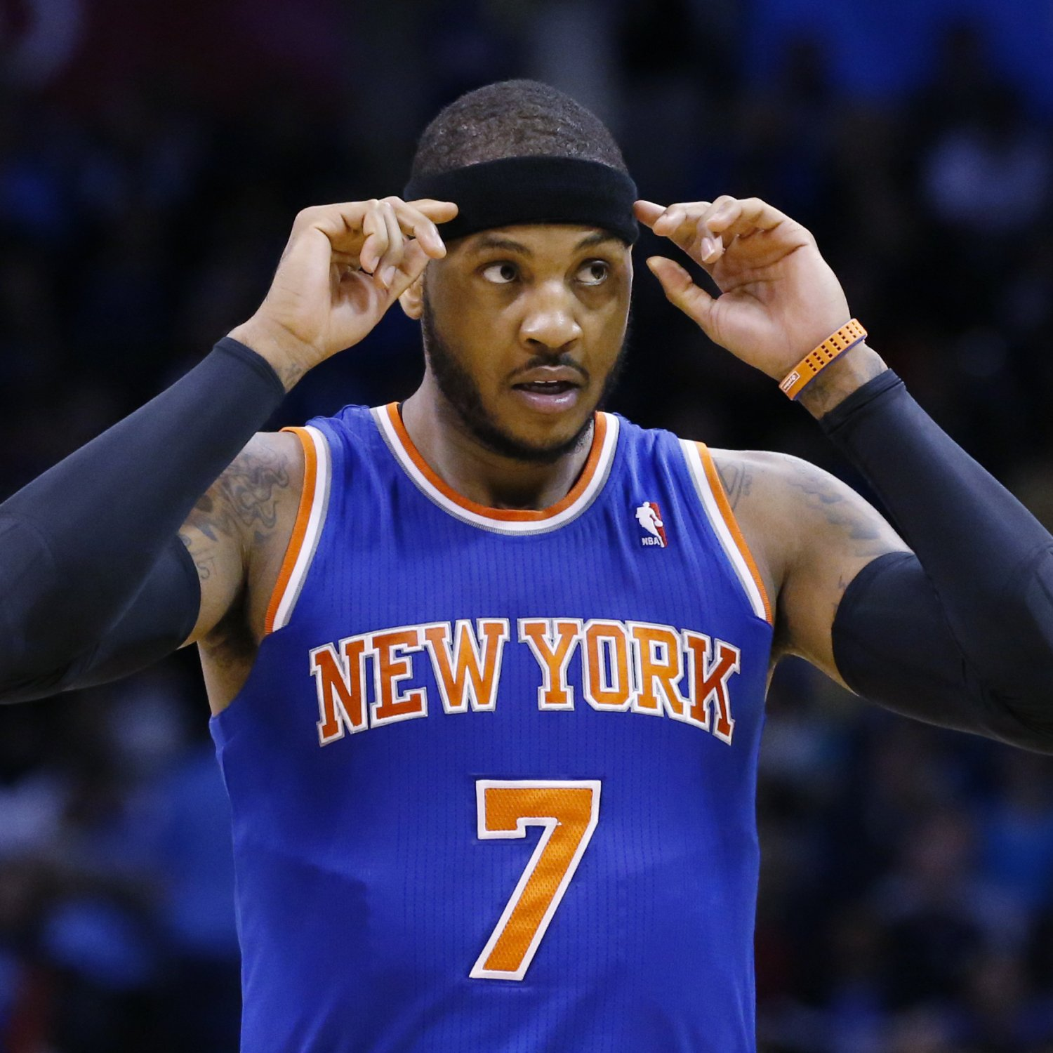 Carmelo Anthony's Contract All About NY Knicks' 2015 ...
