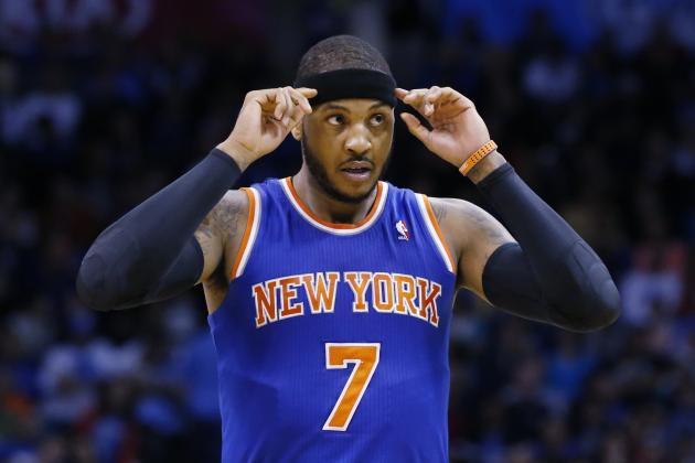 Carmelo Anthony's Contract All About NY Knicks' 2015 Offseason