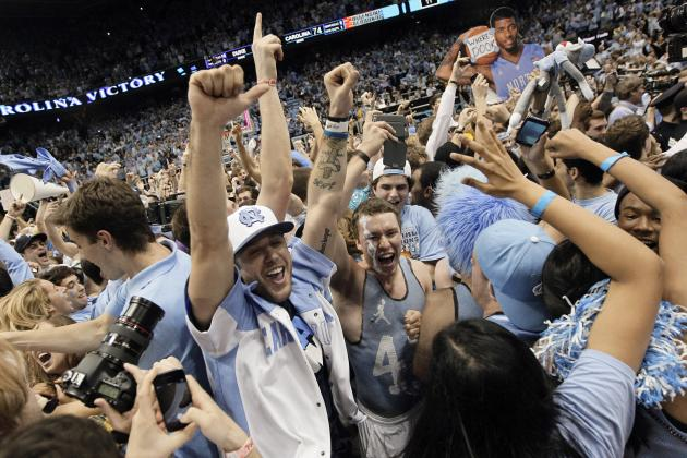UNC Basketball: Should Tar Heel Fans Be Ranked Higher Than No. 11 in Nation?