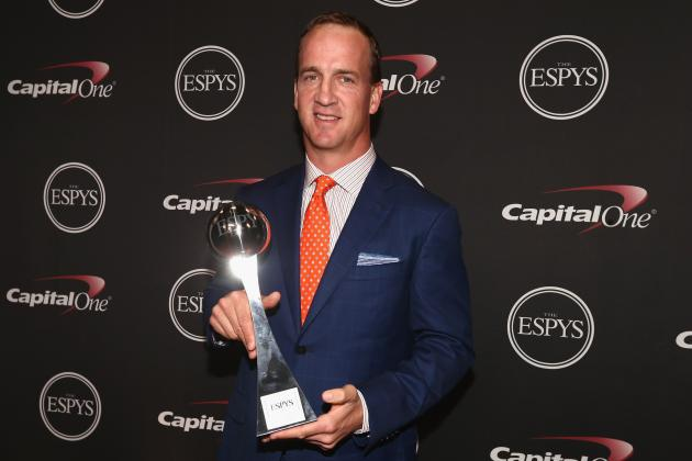 Peyton Nabs 2014 ESPY for Best NFL Player