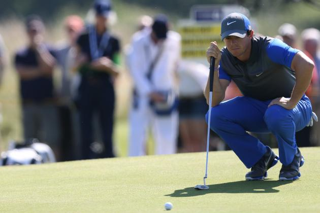Rory McIlroy at British Open 2014: Day 1 Leaderboard Score and Twitter Reaction