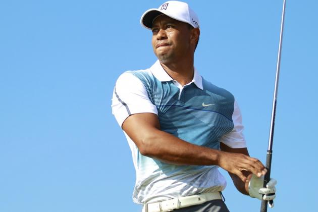 Tiger Woods at British Open 2014: Day 1 Leaderboard, Score and Twitter Reaction