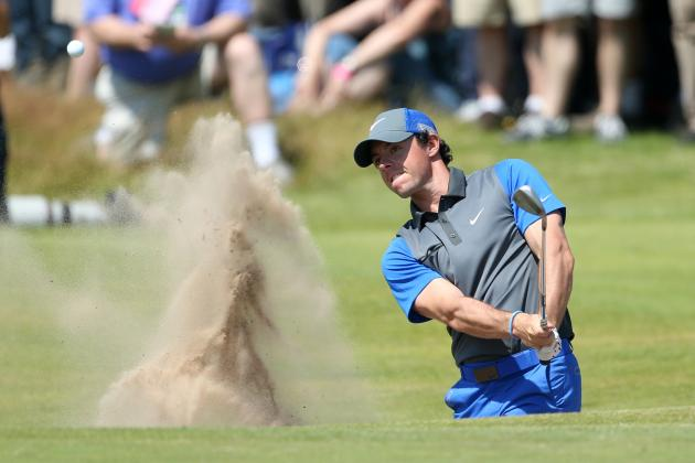 British Open Standings 2014: Live Updated Look at Day 1 Leaderboard Results