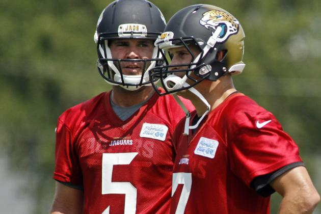Chad Henne Not on Hot Seat, but He's Keeping It Warm
