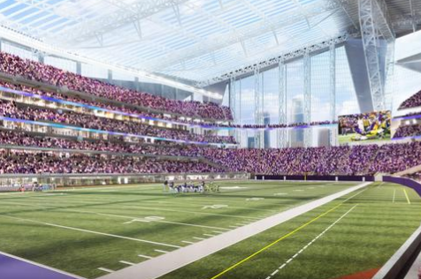 Bids Open for New Minnesota Vikings Turf