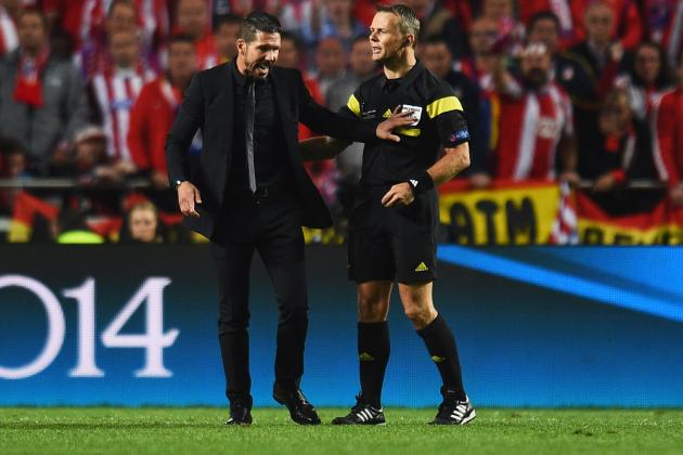 Xabi Alonso and Diego Simeone Banned 1 Match by UEFA for Misconduct