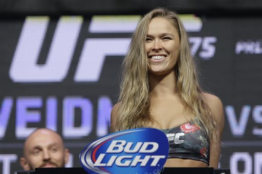 Ronda Rousey Hoping to Become 'The Female Rock'
