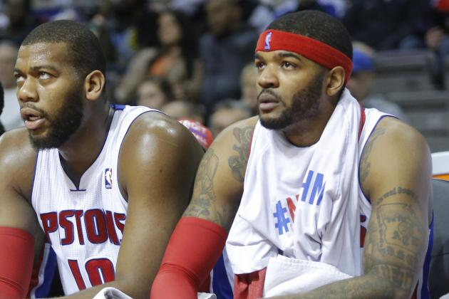 Will Josh Smith Trade Dictate Greg Monroe's Future with Detroit Pistons?