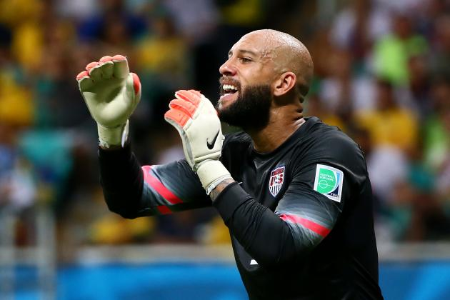 How I Got My Body: Soccer Star Tim Howard