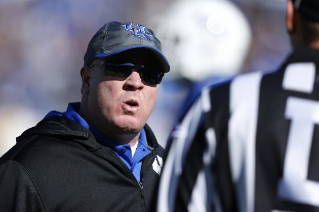 UK's Mark Stoops at SEC Media Days