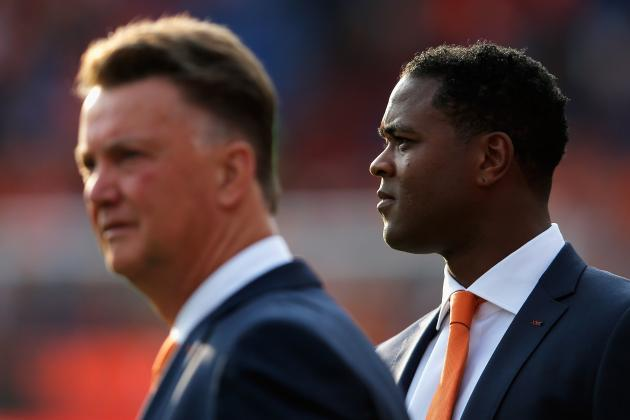 Patrick Kluivert Hopes for Future Louis van Gaal Reunion at Manchester United