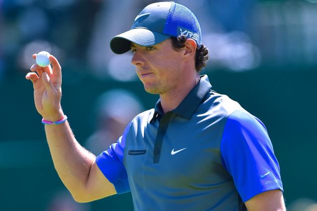 Will 2nd-Round Jinx Ruin Rory McIlroy After Taking Lead at 2014 British Open?