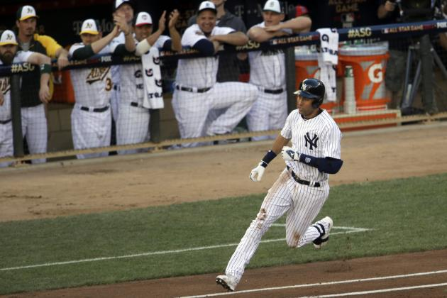 Yankees' Derek Jeter Becomes Oldest Player with 2 Hits in an All-Star Game