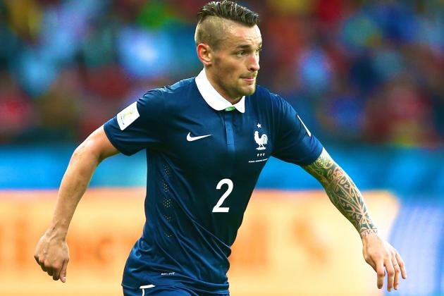 Mathieu Debuchy to Arsenal: Latest Transfer Details, Comments and More