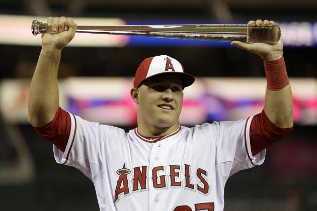 Angels' Mike Trout Second-Youngest Player to Take Home All-Star Game MVP Honors