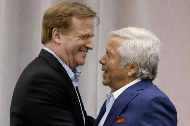 Robert Kraft: NFL Should Strive for London Team by Decade's End