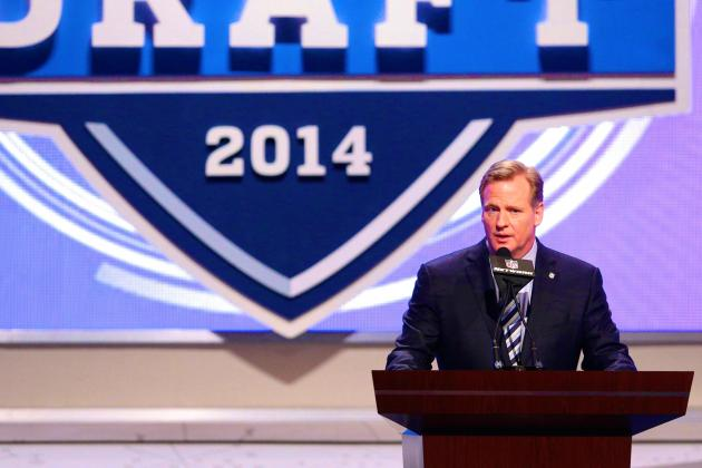 Roger Goodell Says 2015 NFL Draft Location Narrowed Down to LA and Chicago