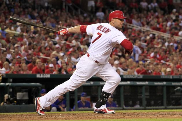Cardinals' Matt Holliday Approaching 1,000 Career Runs