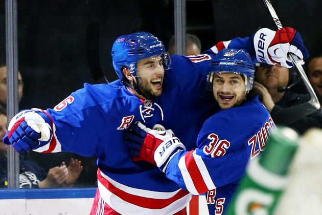 Updated Strategy for Rangers in Talks with Mats Zuccarello and Derick Brassard