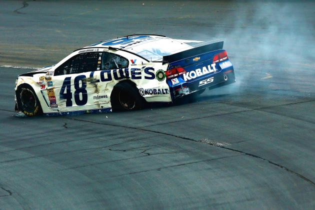 NASCAR Physics 101: Why Tires on Sprint Cup Cars Keep Failing