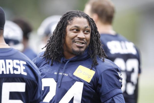 NFL Rumors: Rounding Up Latest Training Camp Buzz on Marshawn Lynch and More