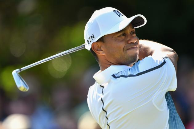Tiger Woods' 1st-Round Performance in England Hints Championship Form Is Near
