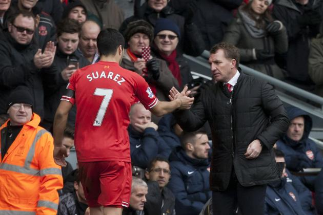 Rodgers Must Avoid Tottenham's Mistakes in Replacing Suarez at Liverpool
