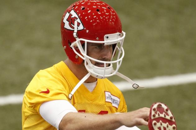 Alex Smith hopes his long-term future is with the Chiefs
