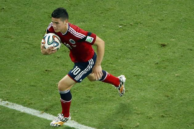 Real Madrid Are Buying James Rodriguez to Replace Cristiano Ronaldo