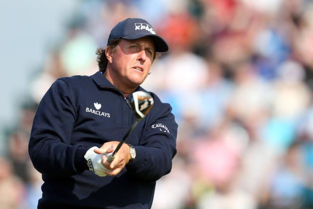 British Open Results 2014: Real-Time Updates for All Day 2 Leaders
