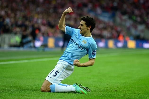 Jesus Navas Faces Battle to Establish Himself in Manchester City Starting XI