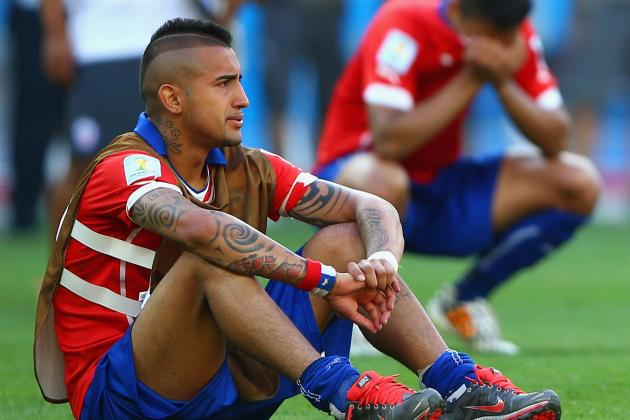 Vidal to Decide Future After Break as United Rumours Continue
