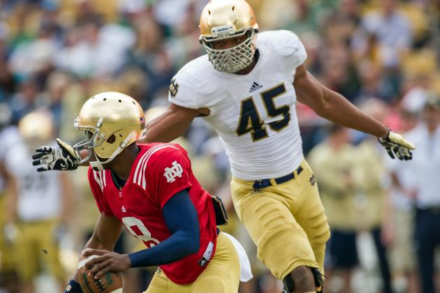 Notre Dame No. 16 in Preseason 'Consensus' Poll