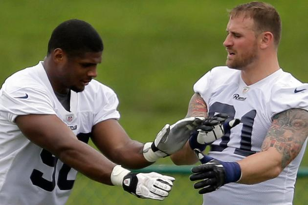 Rams Star Chris Long I'M PROUD of MICHAEL SAM ... 'Excited to Play with Him'
