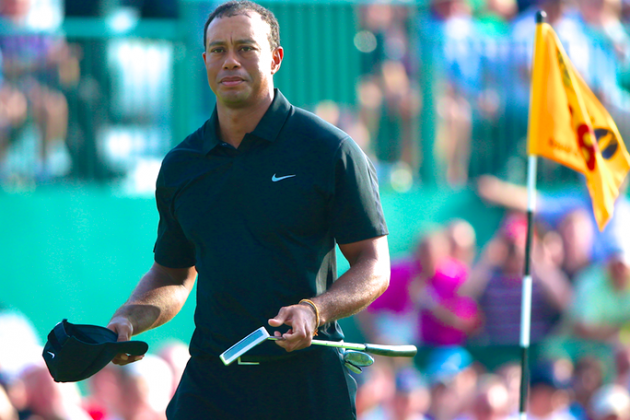 Tiger Woods at British Open 2014: Day 2 Leaderboard Score and Twitter Reaction