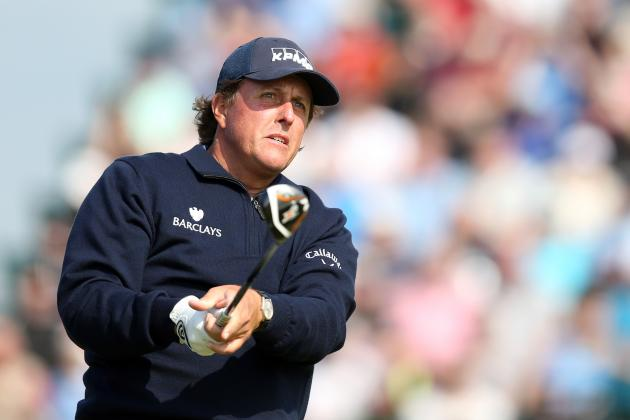 Optimistic Phil Mickelson Waiting for Bad Weather to Mount British Open Comeback