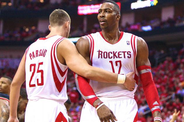Dwight Howard Says Chandler Parsons' Exit from Rockets 'Won't Affect Us at All'
