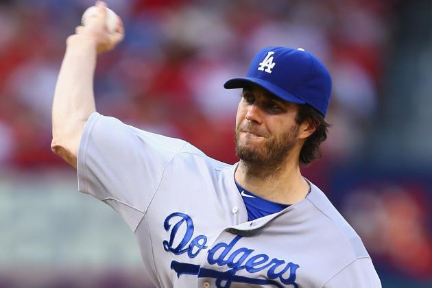 Los Angeles Dodgers' Dan Haren Struggles Again in Loss