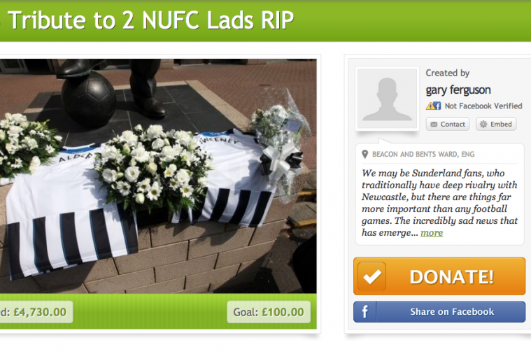Sunderland Fans Raise Funds After Fans of Rivals Newcastle United Die on MH17