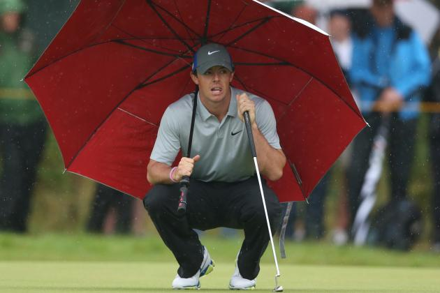 British Open Results 2014: Real-Time Updates for All Day 3 Leaders