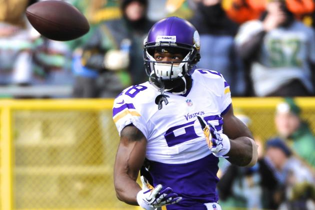 Can Adrian Peterson Thrive as a Receiver in the Vikings' New Offense?