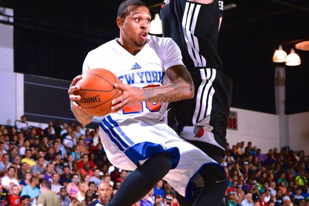 Shannon Brown Uses Lakers Past to Fight for Knicks Future at NBA Summer League
