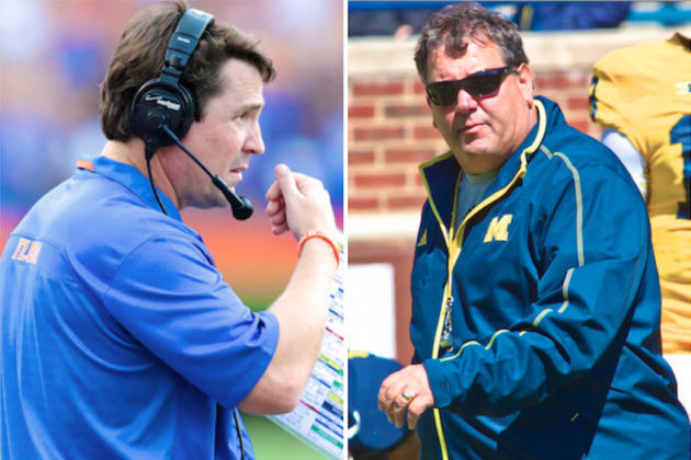Whose Seat Is Hotter Entering 2014: Brady Hoke or Will Muschamp?