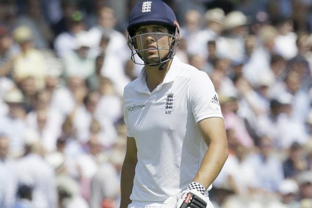 Alastair Cook's Luck Deserts Him as Gary Ballance Makes Most of Good Fortune