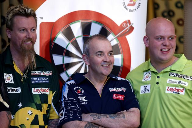 Darts World Matchplay 2014: Tracking Results, Standings, Updated Draw, Fixtures