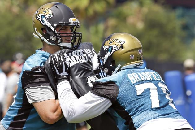 New Look as Jaguars' Offensive Line Seeks Consistency