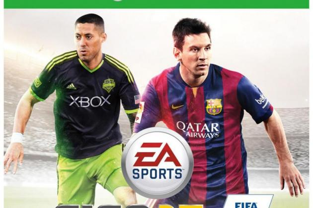 Clint Dempsey Featured on North American Cover of FIFA 15 by EA Sports