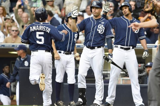 Padres Shower Ross with Rare Support